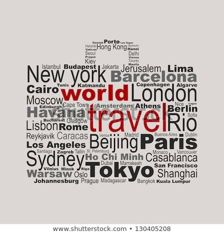 Easy traveling concept for travel agency Stock photo © studioworkstock