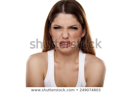 Disgusted woman Stock photo © stokkete