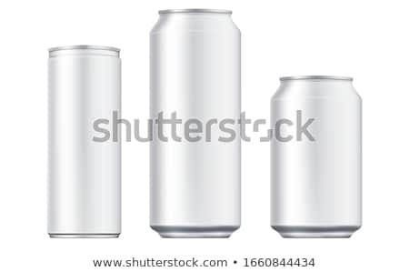 alumínium · üdítős · doboz · izolált · fehér · víz · bár - stock fotó © devon