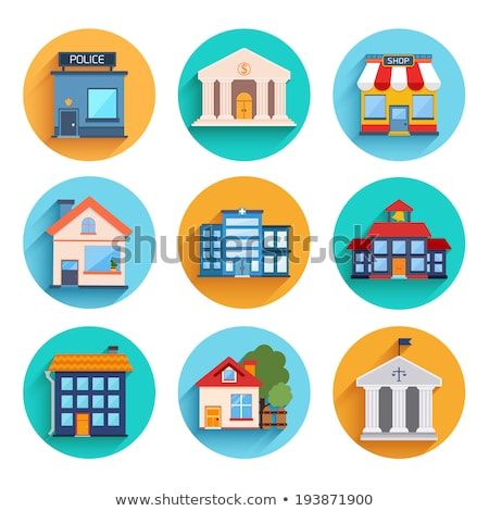 Home House Vector Icon Flat Design Stock photo © rizwanali3d