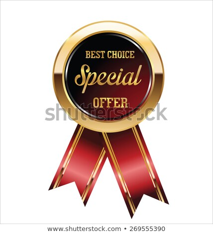 Special Offer Round Vector Web Element Circular Button Icon Desi Stock photo © rizwanali3d