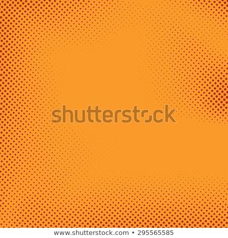 Fényes narancs képregény absztrakt terv jókedv Stock fotó © SArts