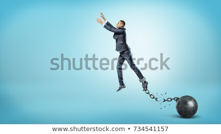 Freedom,liberty breaks shackles Stock photo © Vicasso