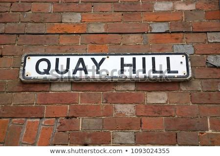 Quay Street in Lymington, UK Stock photo © smartin69