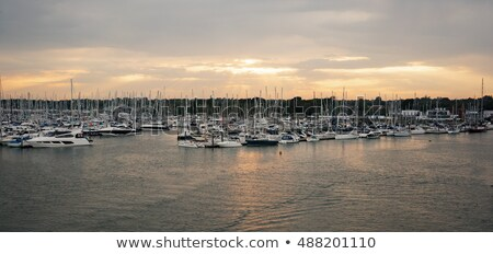 Lymington Harbour, UK Stock photo © smartin69