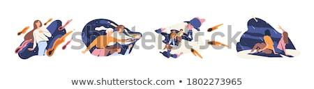 Cartoon Asteroid Idea Stock photo © cthoman
