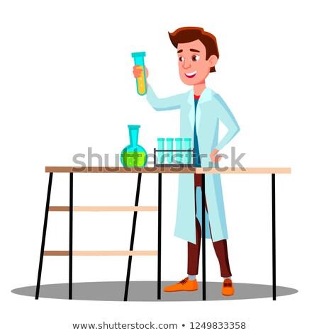 Laboratorium technicus vent groeiend vector Stockfoto © pikepicture