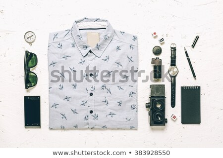 Compass on White Background, Essential Concept Stock photo © make