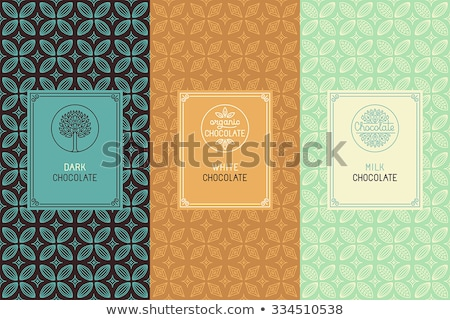 candy concept icons pattern stock photo © netkov1