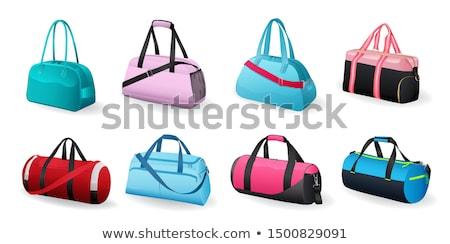 Rood · bagage · zakken · groot · klein · klaar - stockfoto © marysan