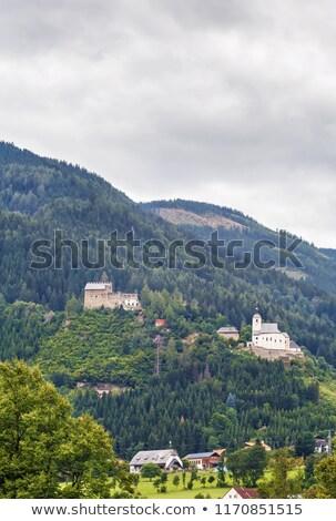 Frauenburg castle ruins, Austria Stock photo © borisb17