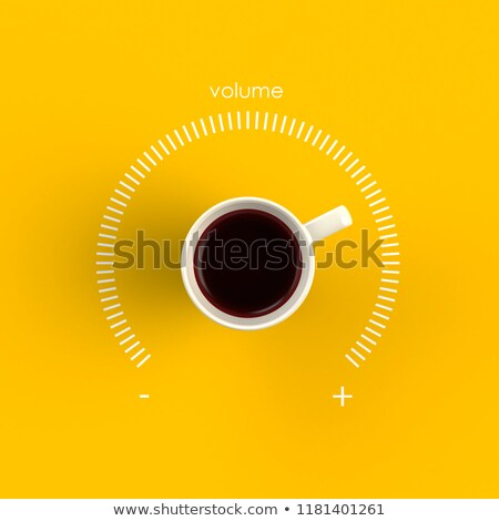 Coffee radio. Stock photo © Fisher