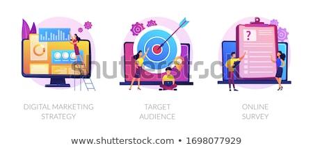 Reclame vector metaforen promotie Stockfoto © RAStudio