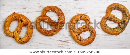 Ev yapımı kimyon ekmek lezzetli gıda ahşap Stok fotoğraf © Peteer