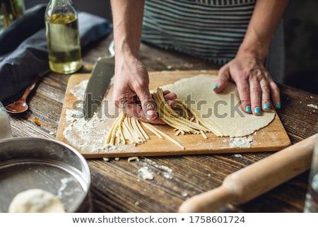 noodle uncooked Stock photo © vladacanon
