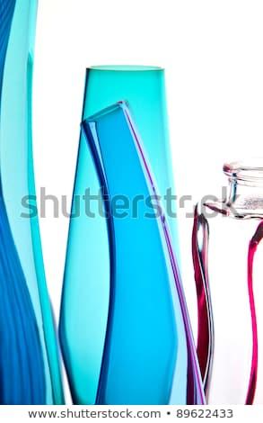 curvy glass bottle Stock photo © morrbyte