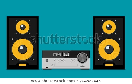 Modern professional cd player stock photo © Myvector