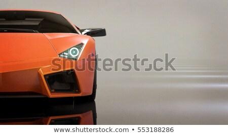Orange sport car Stock photo © Paha_L