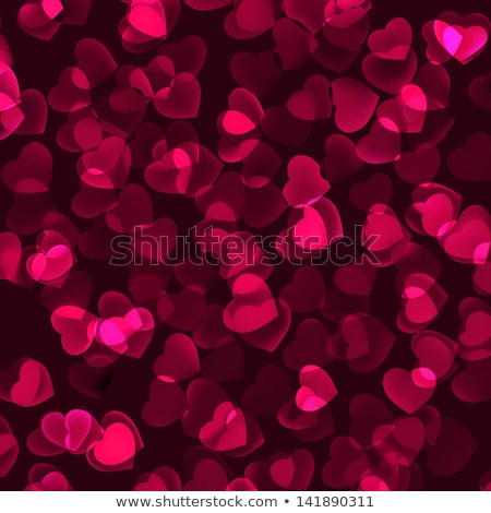 Valentine background with hearts and sparks. EPS 8 Stock photo © beholdereye
