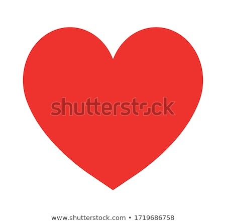 couple red hearts stock photo © leonardi