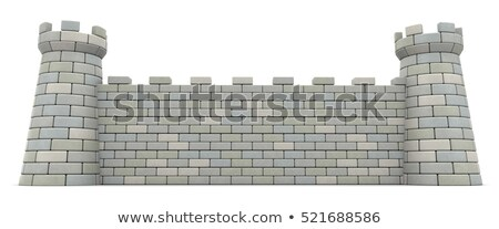 Wall of the fortress Stock photo © Nobilior