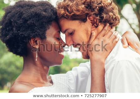 interracial couple in the park Stock photo © photography33