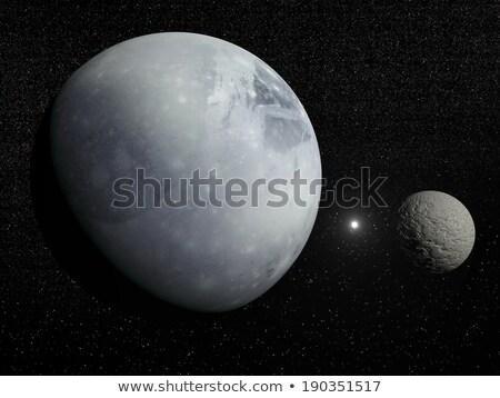 Плутон солнце луна звезды планеты графических Сток-фото © njaj