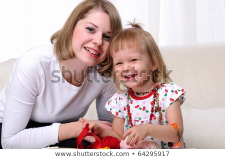 little girl with her mummy Stock photo © photography33