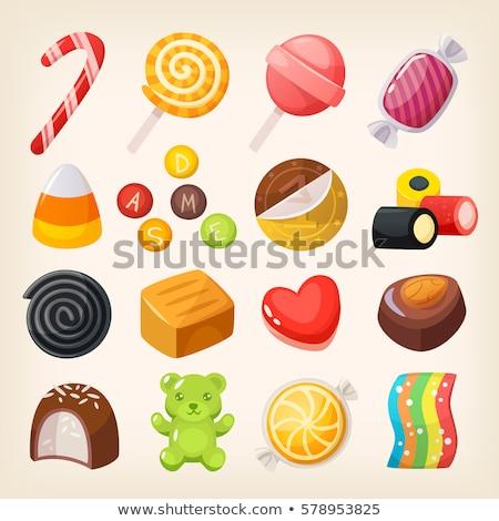 Lukrecja polu obiektu słodycze obiektów pola Zdjęcia stock © phbcz