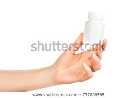 retrato · alegre · médico · estetoscopio · mirando · cámara - foto stock © stockyimages