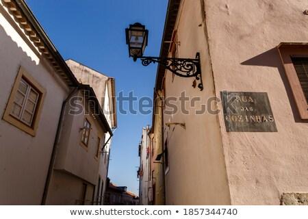 Streetlamp at the corner Stock photo © jakatics