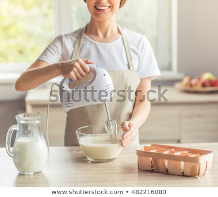 Woman with a kitchen mixer Stock photo © photography33