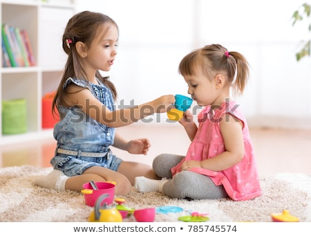 little girls playing with toys stock photo © photography33
