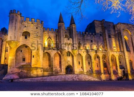 Palace of the Popes, Avignon, Provence, France Stock photo © phbcz