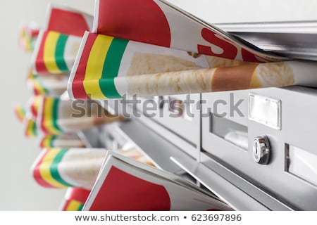 Stock photo: Advertising mail