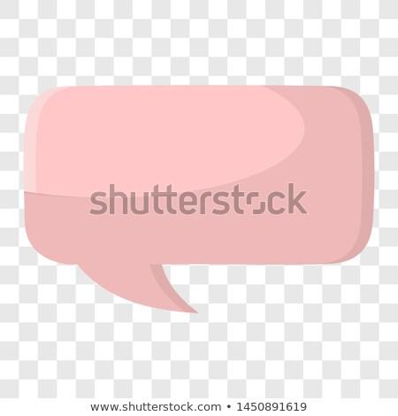 Kabarcıklar konuşma şeffaflık eps vektör dosya Stok fotoğraf © beholdereye