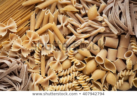 Wholemeal pasta assortment Stock photo © ivonnewierink