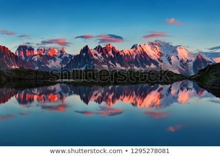 Mont Blanc peak Stock photo © pedrosala