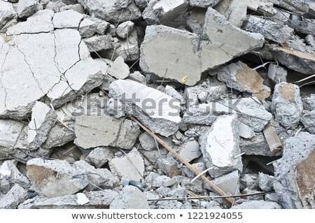 heap of built debris Stock photo © Mikko