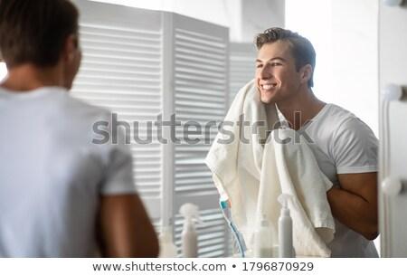 Temizlemek tıraş kadın güzellik vücut bakım Stok fotoğraf © MamaMia