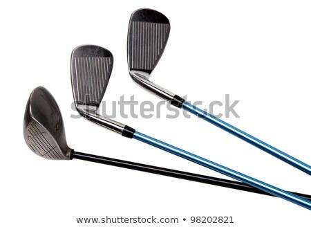 Golf odizolowany drewna sportu klub Zdjęcia stock © tungphoto