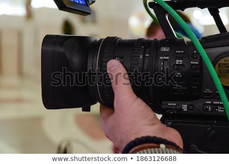 Camerman Stock photo © wellphoto