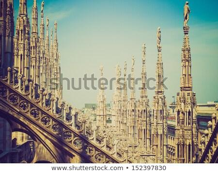 ретро глядя Милан Италия Vintage посмотреть Сток-фото © claudiodivizia