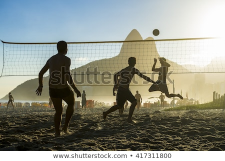 Stock photo: Brazilian Volleyball Team