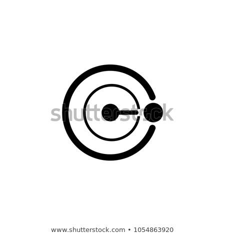 radioatividade · assinar · radiação · símbolo · grafite · estilo - foto stock © photooiasson