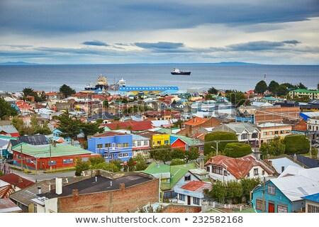 Панорама Чили прямой город Сток-фото © pancaketom