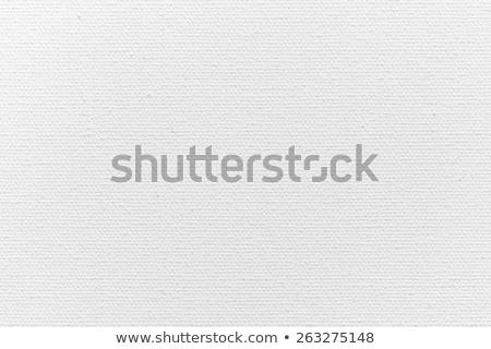 Fehér vászon textúra fal terv művészet Stock fotó © oly5