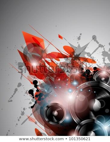 abstract · reclame · Blauw · kamer · tekst · foto's - stockfoto © davidarts