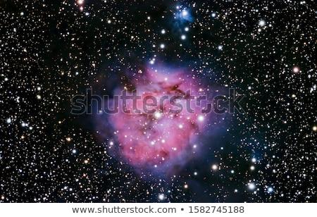 nebula · güneş · ışık · ay · uzay · gezegen - stok fotoğraf © rwittich