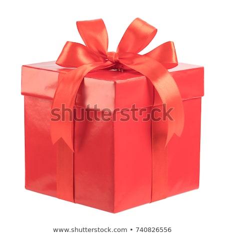 Pasen geschenk geïsoleerd witte winkelen huwelijk Stockfoto © natika